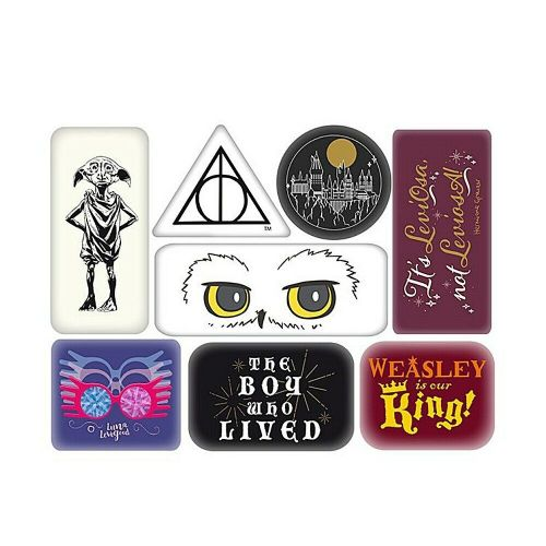 Harry Potter Characters Fridge Magnet Set Of 8